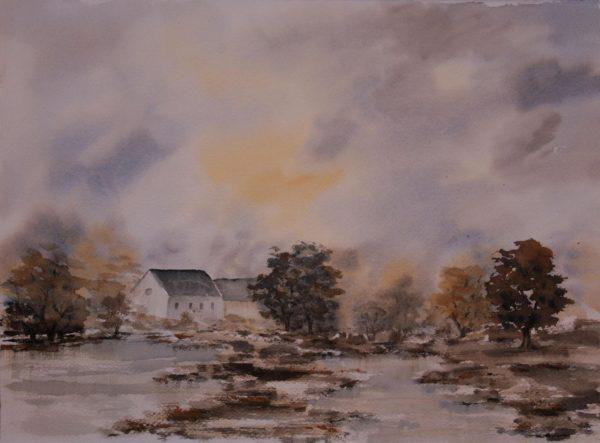 Maison dans les marais