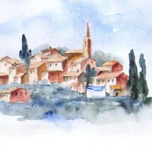 Petit village français