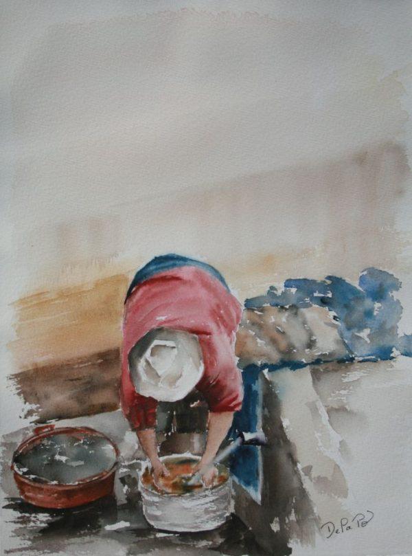 Peinture lavoir